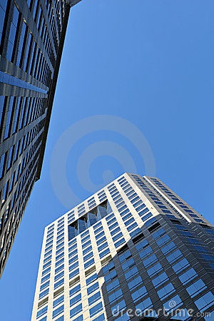 Free Modern Commercial Complex Royalty Free Stock Photo - 4101605