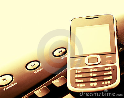 Modern communication - mobile phone and e-mail