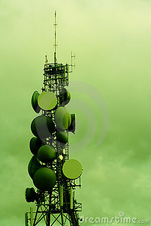Modern communications tower