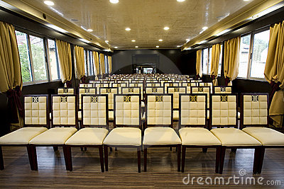Modern conference room