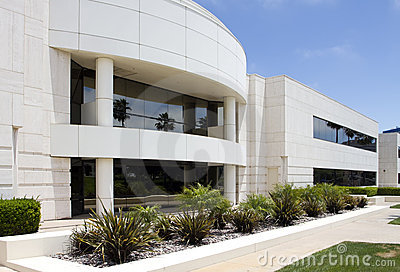 Modern Corporate Office Building in California