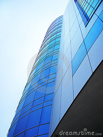 Modern Corporative Business Building Of A Financial Institution