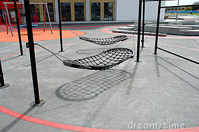 Modern creative design playground swings