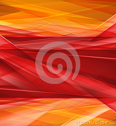 Modern Crystal red and yellow prism background