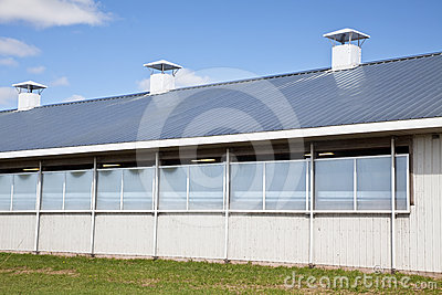 Modern Dairy Barn