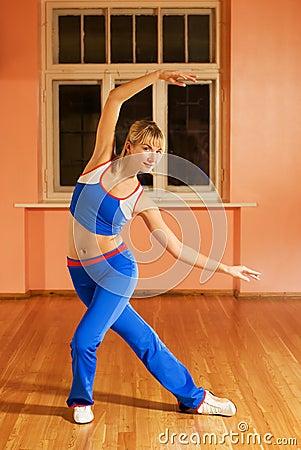 Free Modern Dance Trainer Stock Image - 3643551