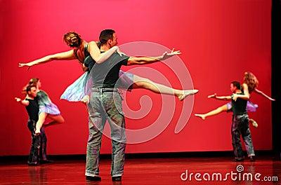 Modern dancers