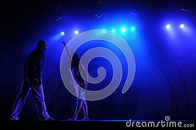 Modern dancing Editorial Photo