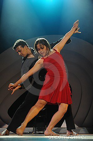 Modern dancing Editorial Image