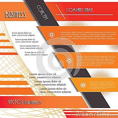 Modern design background for business.