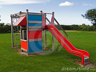 Modern design colorful playground