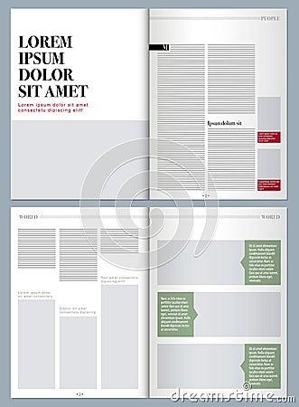 modern design magazine stock illustration image 59047317