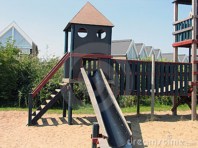 Modern design playground facilities
