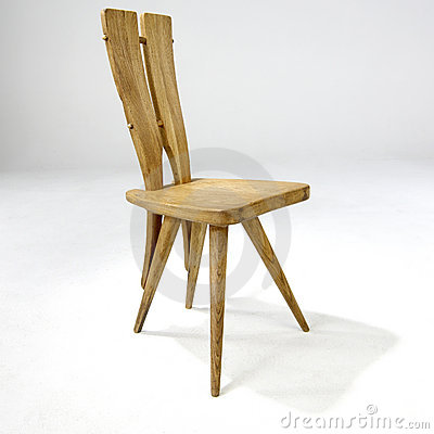 Modern Design Wooden Side Chair Editorial Photography - Image: 8114942