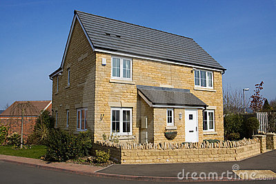 Modern detached family house