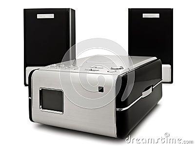 Modern digital cd player