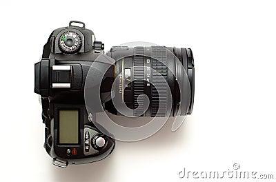 Modern digital dslr camera