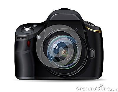 Modern digital reflex camera
