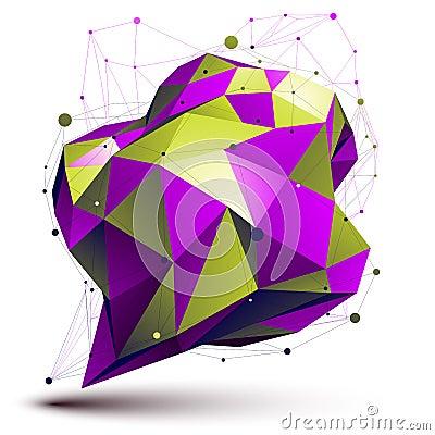 Free Modern Digital Technology Style. Asymmetric Figure Royalty Free Stock Photography - 45380377