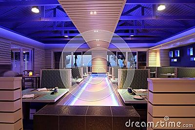 Modern Dining Restaurant Concept