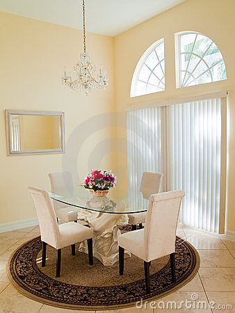 Free Modern Dining Room Stock Photography - 8952752