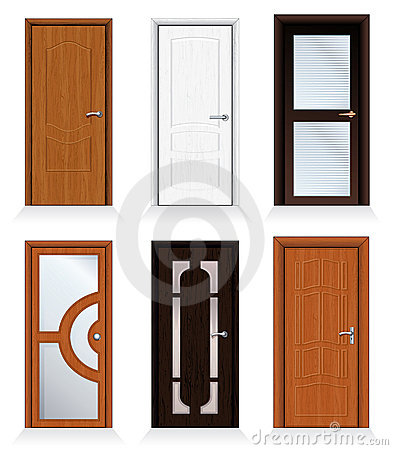 Free Modern Doors Royalty Free Stock Photography - 16267607