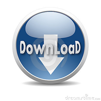 Modern download icon