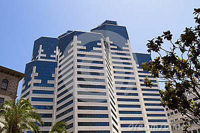 Modern Downtown City Hotel Building