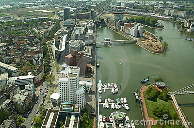Modern Dusseldorf (Germany)