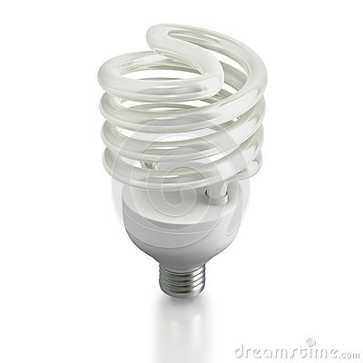 Modern ecological fluorescent light bulb