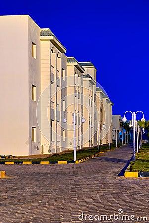 Modern egypt hotel architecture