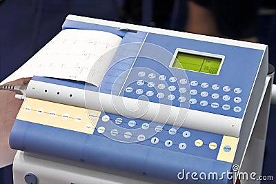 Modern EKG Machine