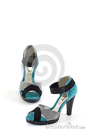 Modern elegant shoes