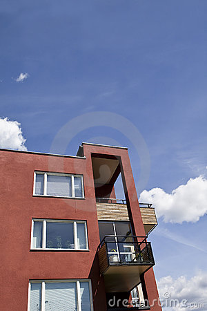 Free Modern Executive Apartments Royalty Free Stock Photography - 15736627