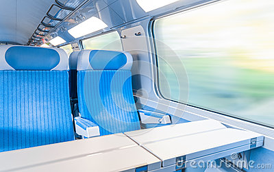 Modern express train.