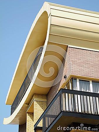 Modern facade detail