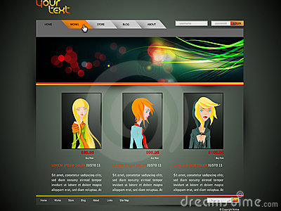 Modern Fashion Web Template