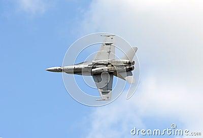 Modern fighter jet