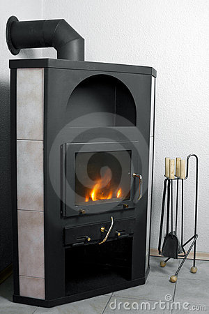 Free Modern Fireplace Royalty Free Stock Image - 17375936
