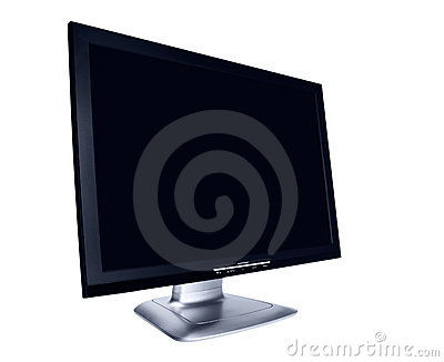 Modern flat screen LCD monitor