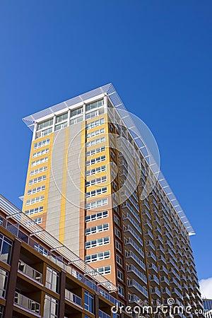 Modern Flatgebouw met koopflats