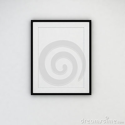 Free Modern Frame On The Wall Royalty Free Stock Images - 40962639