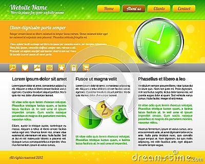 Modern and Fresh Website Template