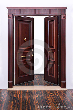 Modern Front Door Handle on Stock Photo  Modern Front Door  Image  23850040