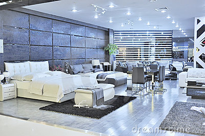 Modern Furniture Store Editorial Photography Image 22010082