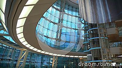 Modern futuristic interior
