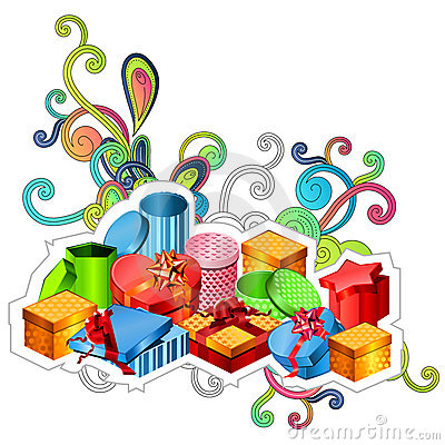 Modern gift boxes