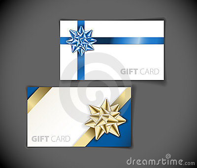 Modern gift card templates