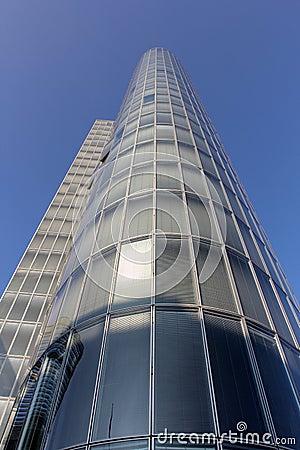 Modern glass buiding