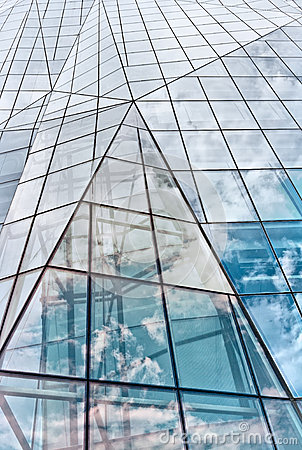 Free Modern Glass Building In Abstract Stock Photography - 26380052
